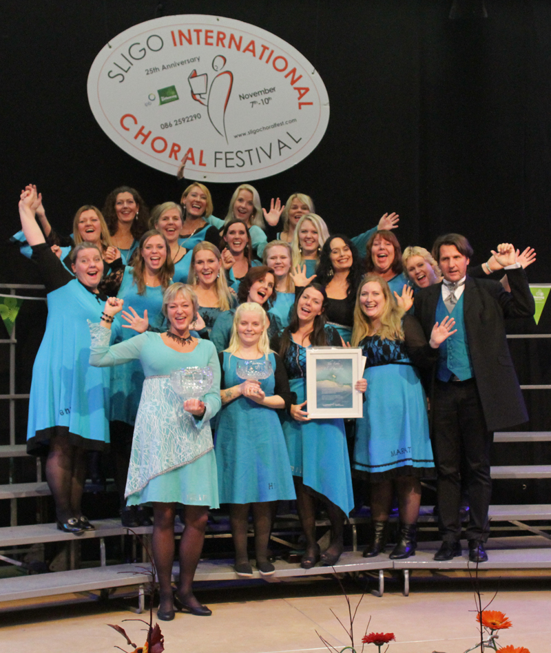Vinnere av Sligo International Choral Festival 2013: Damenes Aften