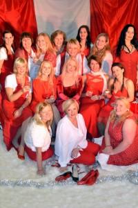 Årets julekabaret - 20 år med damer, vin og sang 1