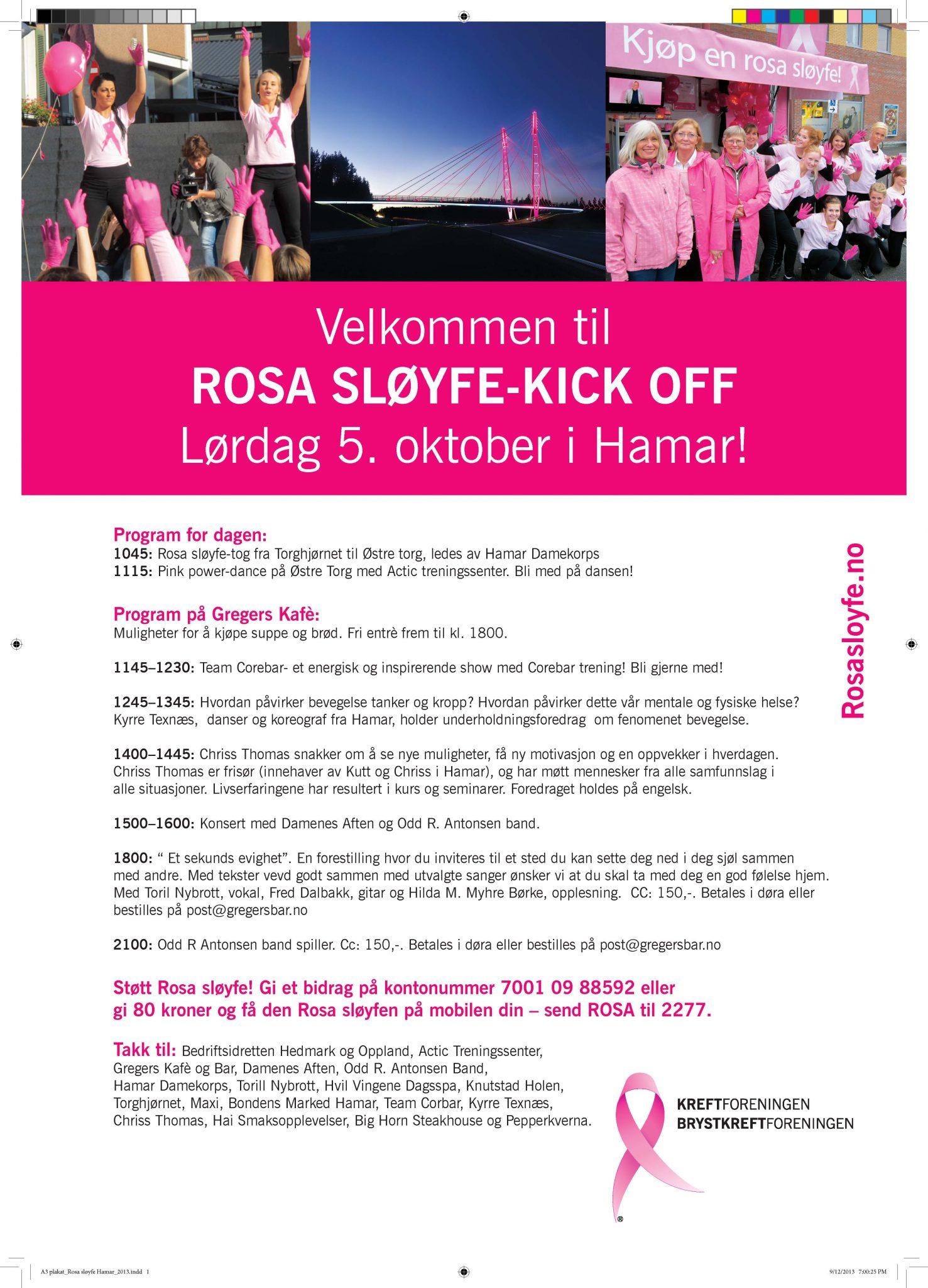 A3 plakat_Rosa sløyfe Hamar_2013