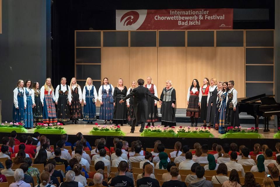 Korkonkurranse i Bad Ischl - 3 gull og dirigentpris 5