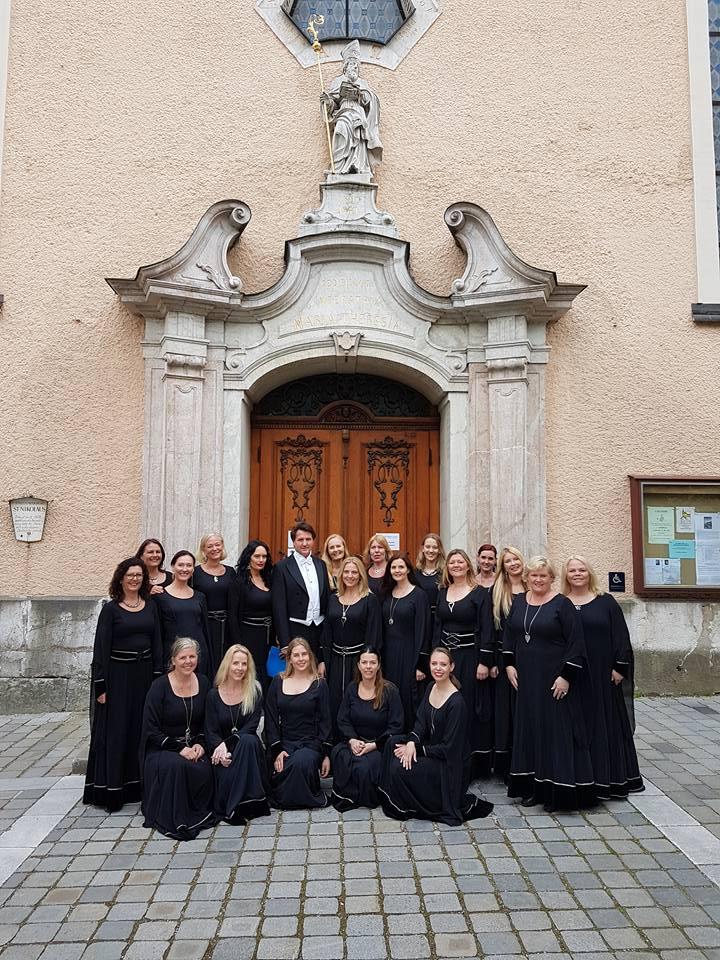 Korkonkurranse i Bad Ischl - 3 gull og dirigentpris 6