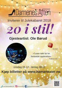 Ole Børud gjesteartist i årets kabaret 20 i stil! 11