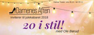 Ole Børud gjesteartist i årets kabaret 20 i stil!