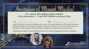 Magisk Musikal med Damenes Aften og prosjektkor