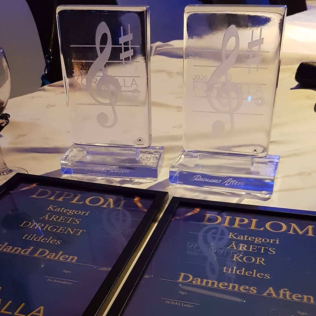 Vant priser for Årets kor og Årets dirigent!