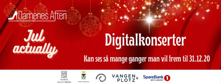 Banner digital julekonsert