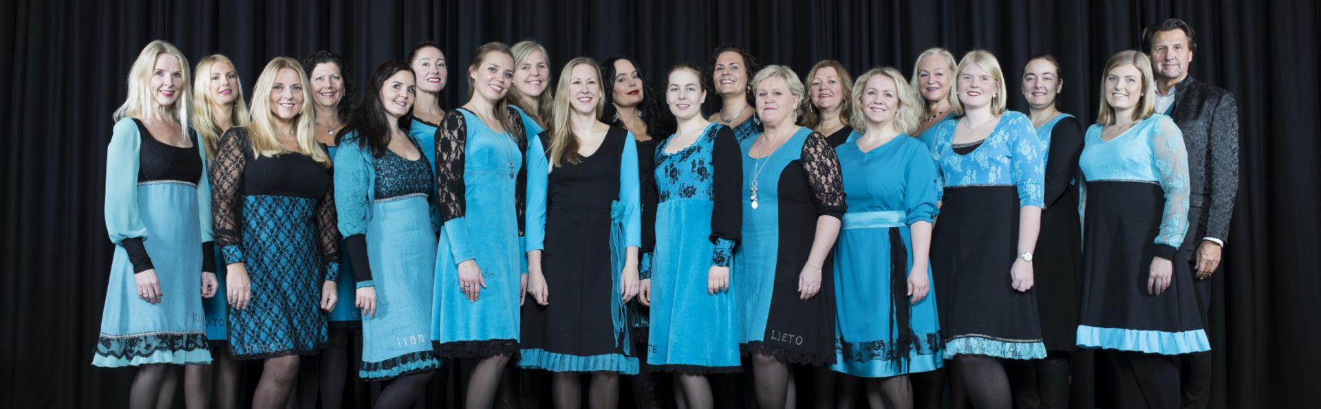 Bilde av damekoret damenes aften tatt høsten 2019, Atle Sveen