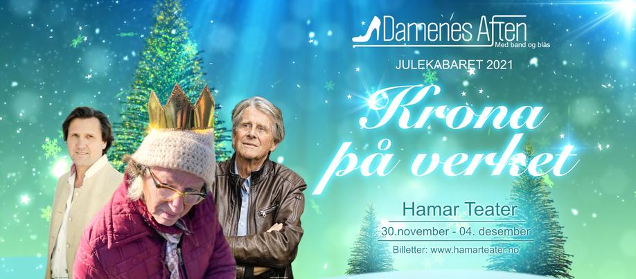 Nå kan du kjøpe billett til Damenes Aften sin julekabaret «Krona på verket»
